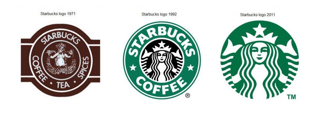 Starbucks logo's