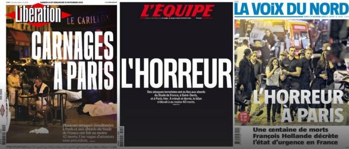 Framing Franse kranten