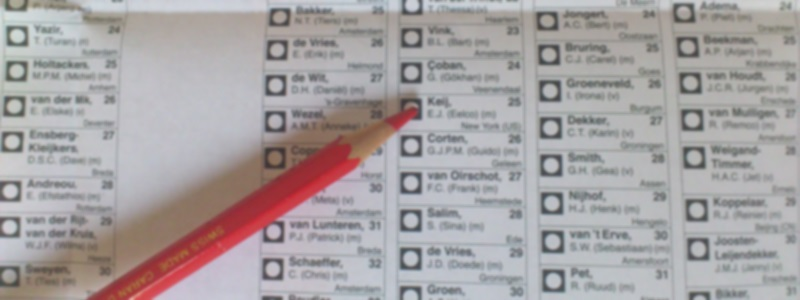 media verkiezingen