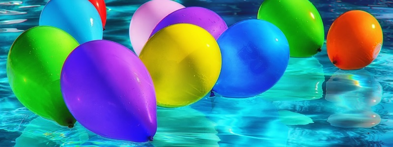plastic soep ballonnen
