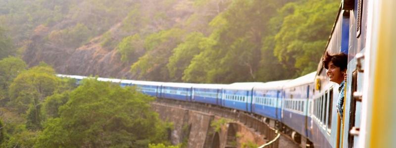 lichaamstaal in de trein